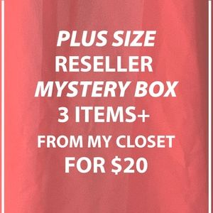 Plus Size Reseller  Mystery box 3 items for $20